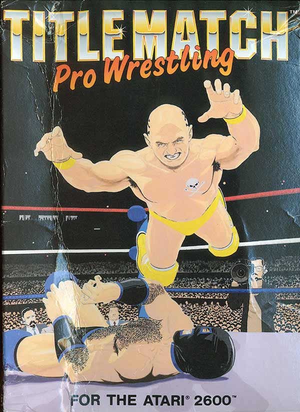 Title Match Pro Wrestling - Box Front