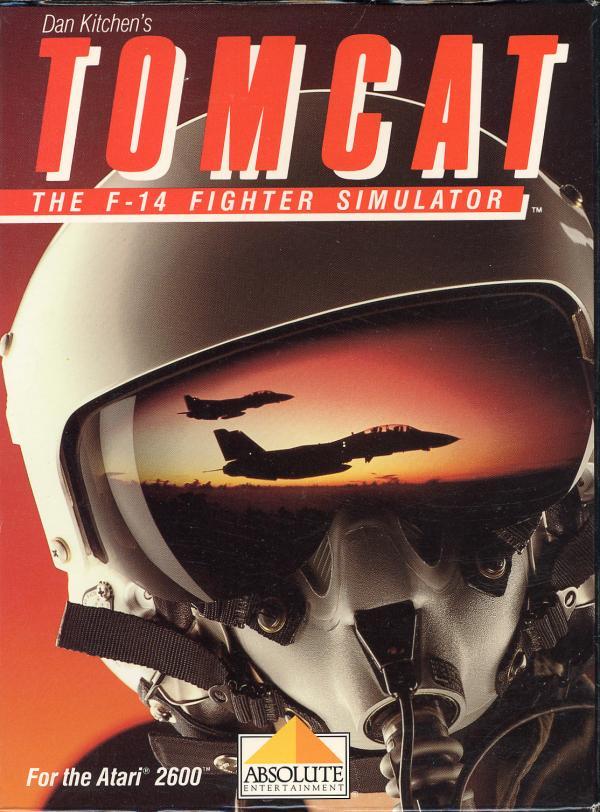 Tomcat: The F-14 Fighter Simulator - Box Front