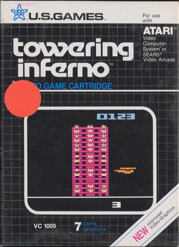 Towering Inferno - Box Front