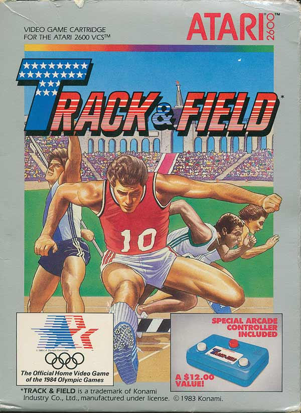Track & Field - Box Front