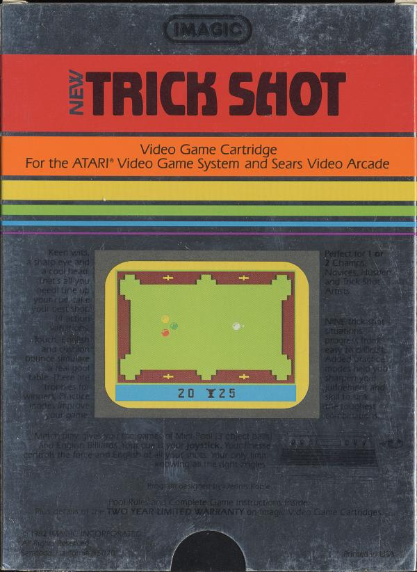 Trick Shot - Box Back