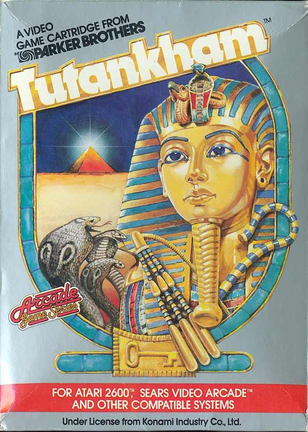 Tutankham - Box Front