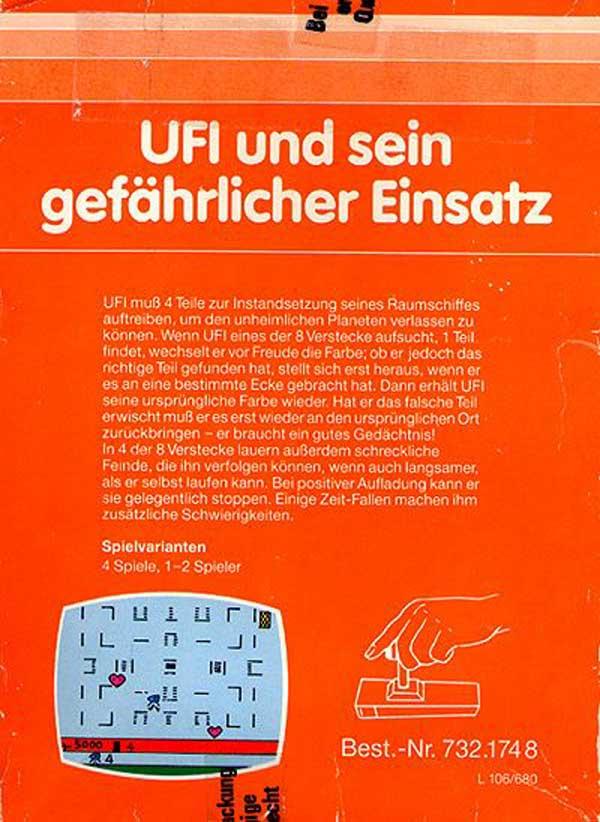 UFI und sein gefährlicher Einsatz - Box Back