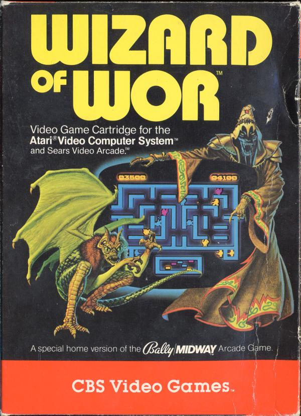 Wizard of Wor - Box Front