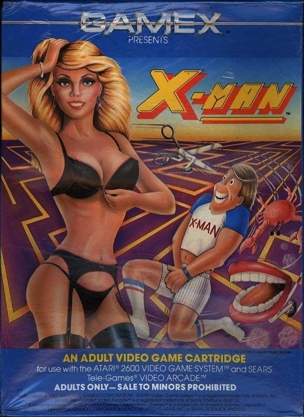 X-Man - Box Front