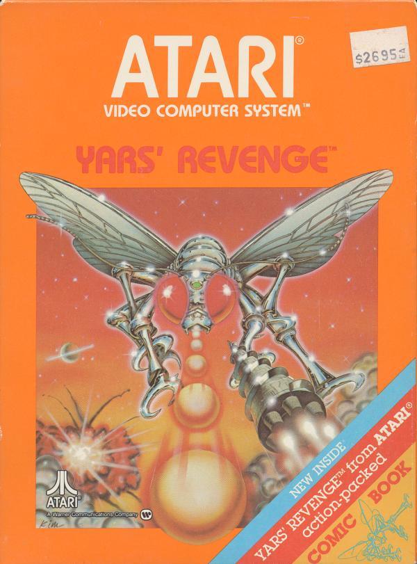 Yars' Revenge - Box Front