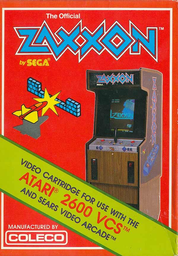 Zaxxon - Box Front