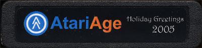 2005 AtariAge Holiday Cart: Reindeer Rescue - Cartridge Scan