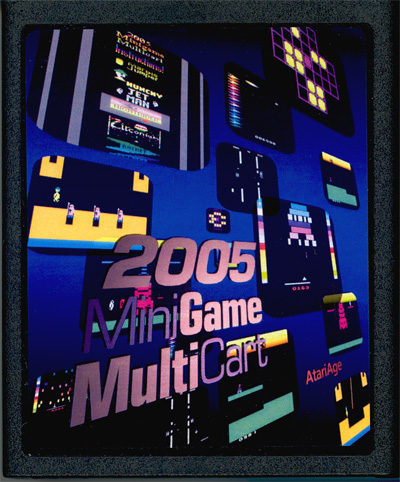 2005 Minigame Multicart - Cartridge Scan