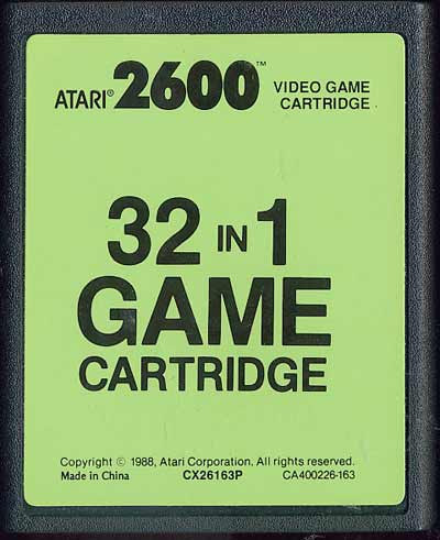 32 in 1 - Cartridge Scan