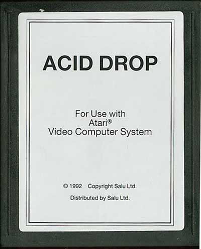 Acid Drop - Cartridge Scan