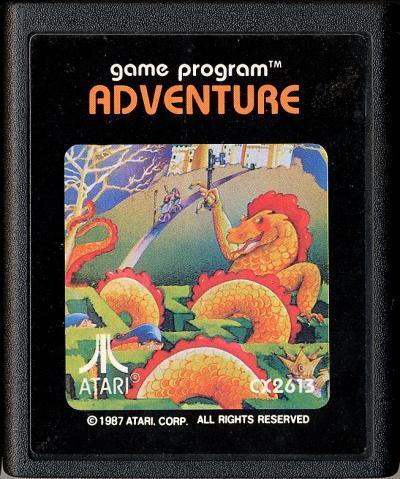 Adventure - Cartridge Scan