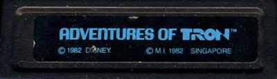 Adventures of Tron - Cartridge Scan