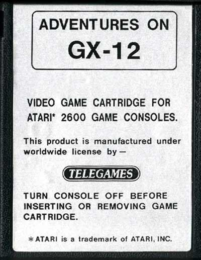 Adventures on GX-12 - Cartridge Scan