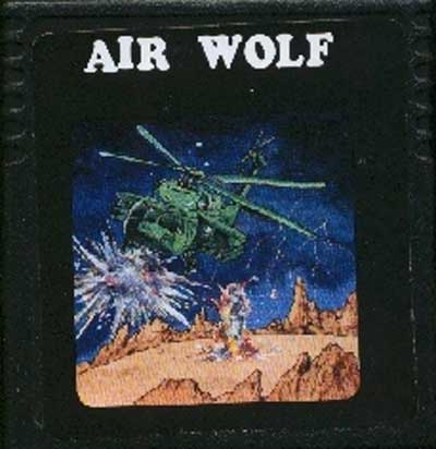 Air Wolf - Cartridge Scan