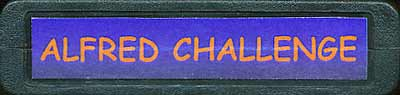 Alfred Challenge - Cartridge Scan