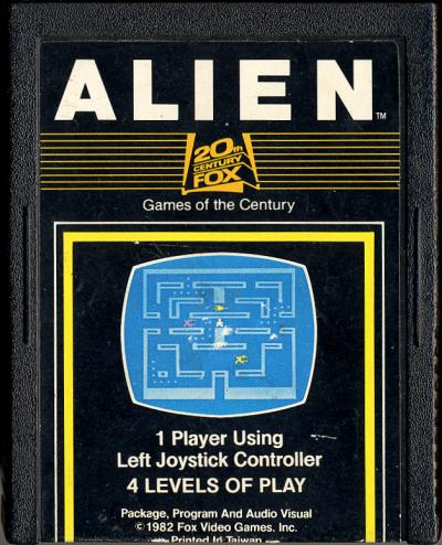 Alien - Cartridge Scan