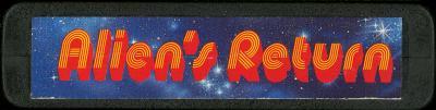 Alien's Return - Cartridge Scan