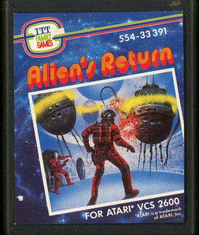 Alien's Return - Cartridge Scan