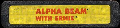 Alpha Beam with Ernie - Cartridge Scan