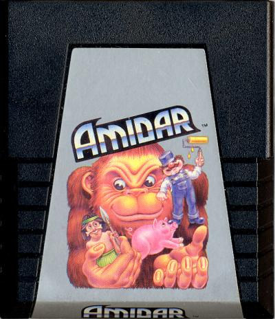 Amidar - Cartridge Scan