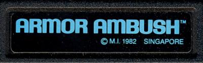 Armor Ambush - Cartridge Scan