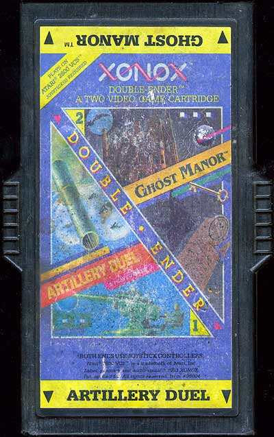 Artillery Duel/Ghost Manor - Cartridge Scan