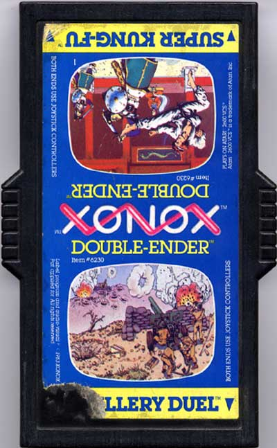 Artillery Duel/Super Kung Fu - Cartridge Scan