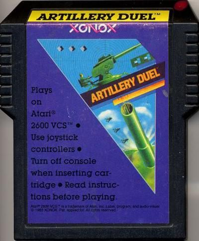 Artillery Duel - Cartridge Scan
