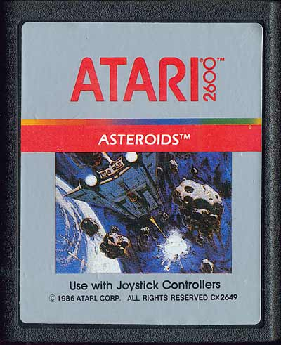 Asteroids - Cartridge Scan