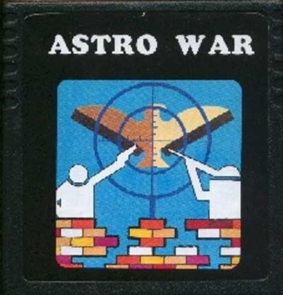 Astro War - Cartridge Scan