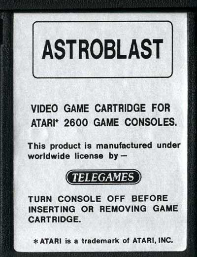 Astroblast - Cartridge Scan