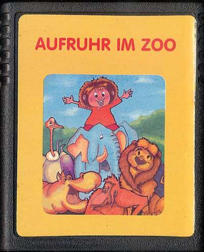 Aufruhr im Zoo - Cartridge Scan