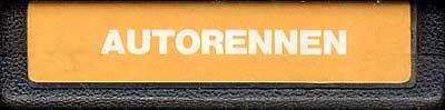Autorennen - Cartridge Scan