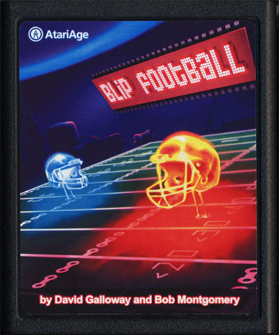 BLiP Football - Cartridge Scan