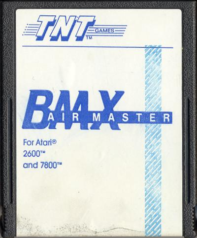 BMX Airmaster - Cartridge Scan