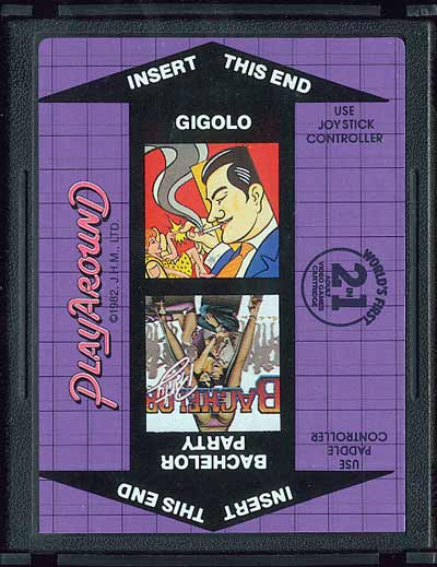 Bachelor Party/Gigolo - Cartridge Scan