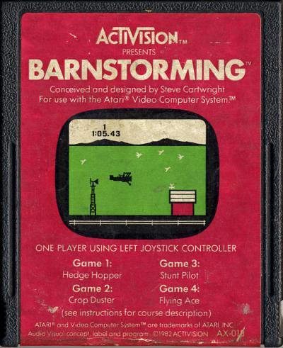 Barnstorming - Cartridge Scan