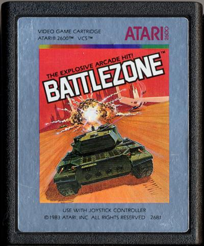 Battlezone - Cartridge Scan