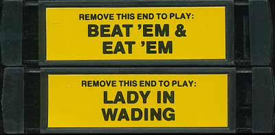 Beat 'Em & Eat 'Em/Lady in Wading - Cartridge Scan