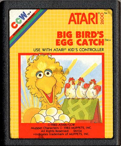 Big Bird's Egg Catch - Cartridge Scan