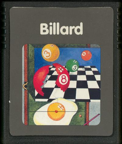 Billard - Cartridge Scan