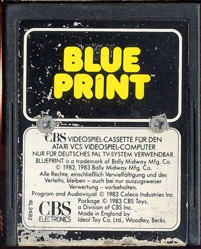 Blueprint - Cartridge Scan