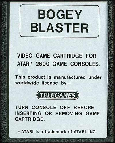 Bogey Blaster - Cartridge Scan