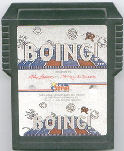 Boing! - Cartridge Scan