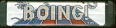 Boing! - Cartridge Scan