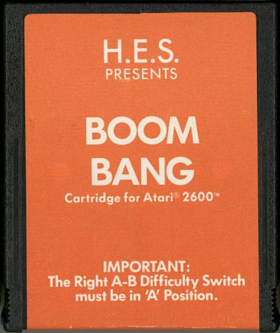 Boom Bang - Cartridge Scan