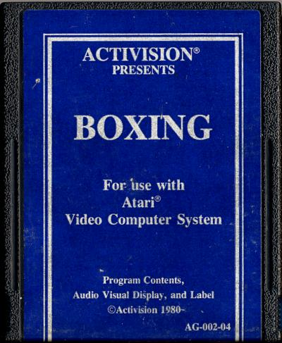 Boxing - Cartridge Scan