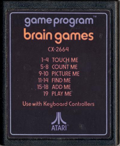 Brain Games - Cartridge Scan