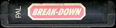 Break Down - Cartridge Scan